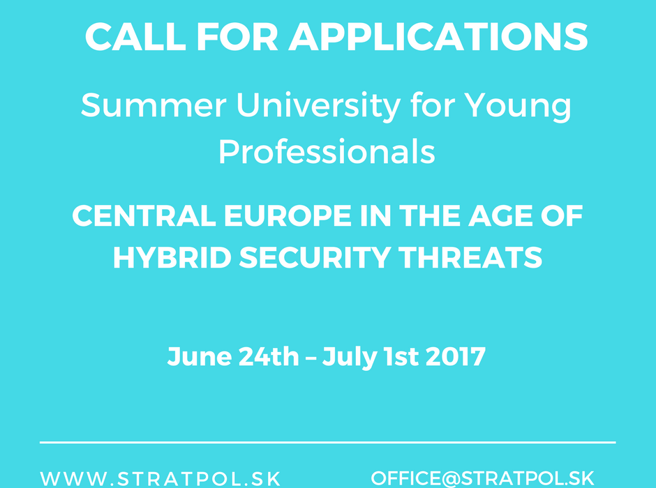 Summer University for Young Professionals 2017