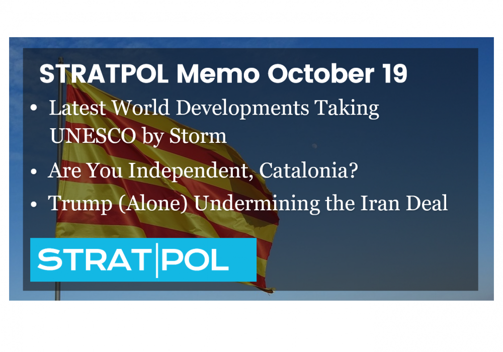 STRATPOL Memo October 19