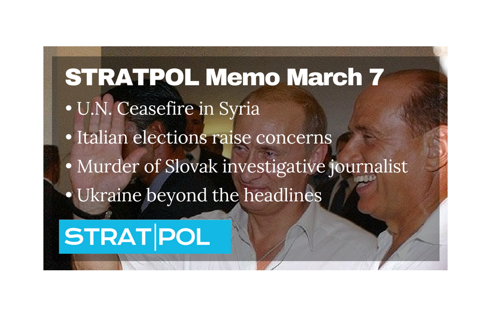 STRATPOL Memo March 7