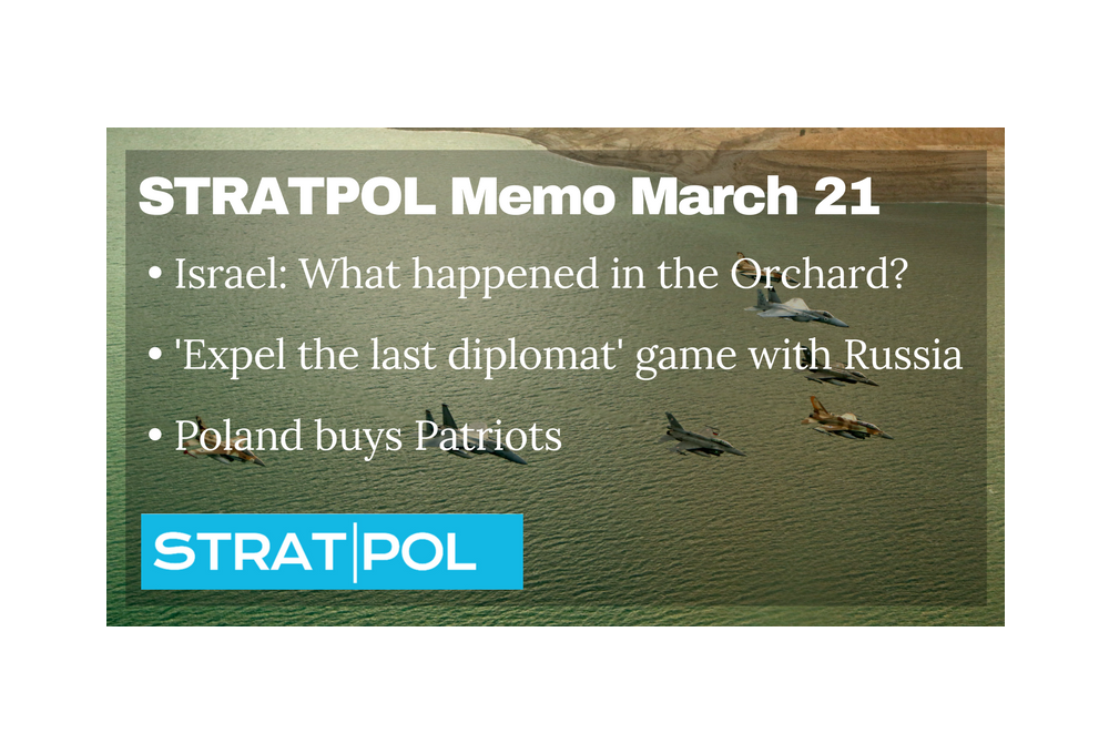 STRATPOL Memo April 4