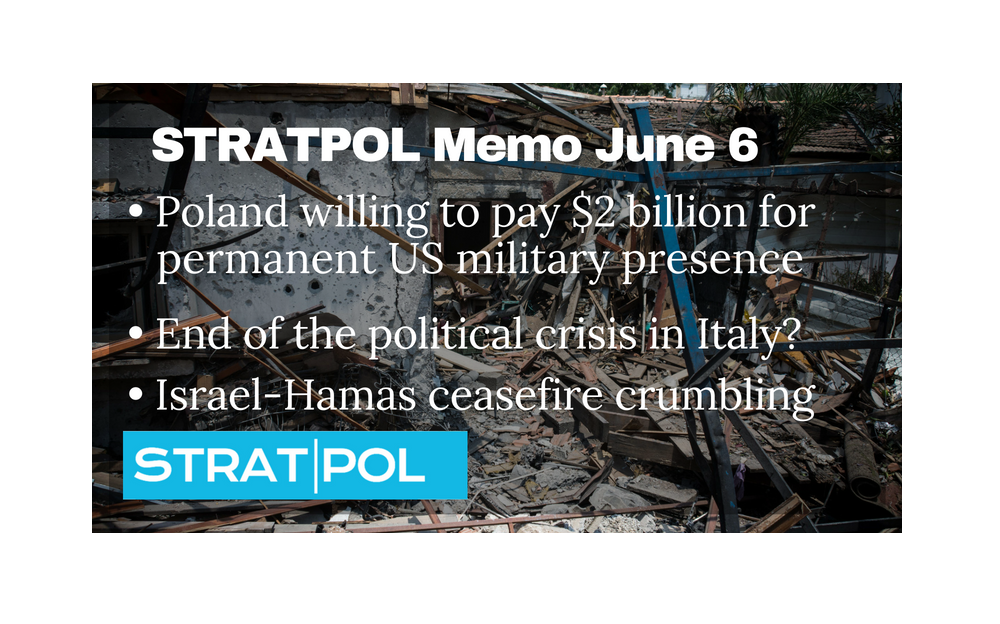 STRATPOL Memo June 6