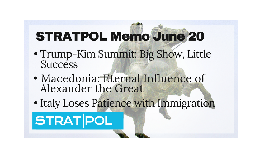 STRATPOL Memo June 20