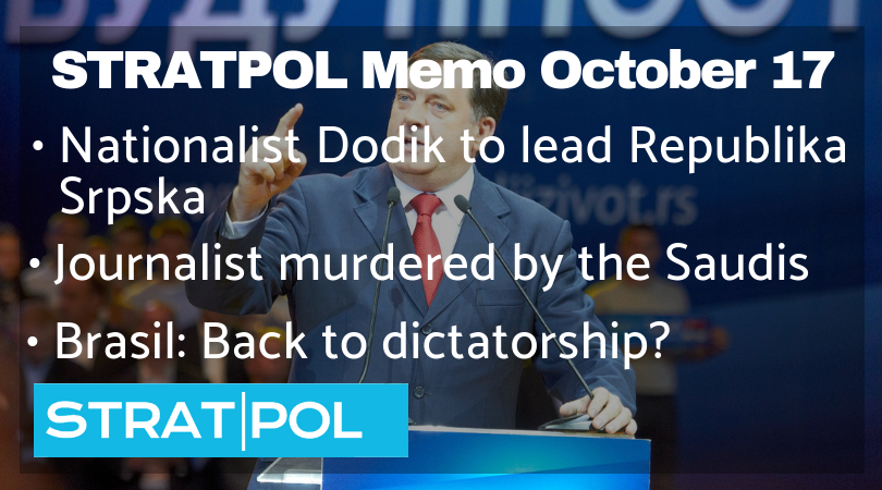 STRATPOL Memo October 17