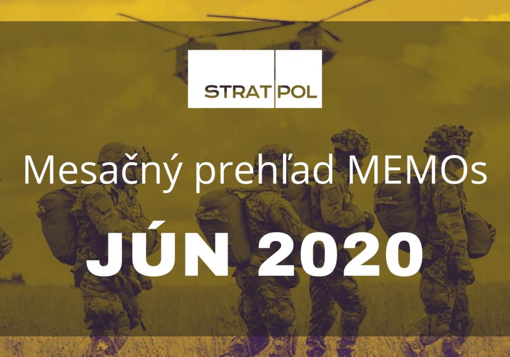 Mesačný prehľad STRATPOL Memos 6/2020